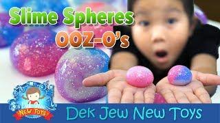 เด็กจิ๋วทำ สไลม์บอล (OOZ-O's Slimy Spheres)
