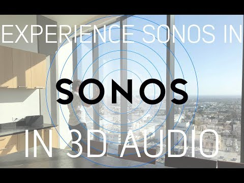 Sonos Whole Home Audio System in Binaural Audio: Music In 5.1 (watch with headphones)