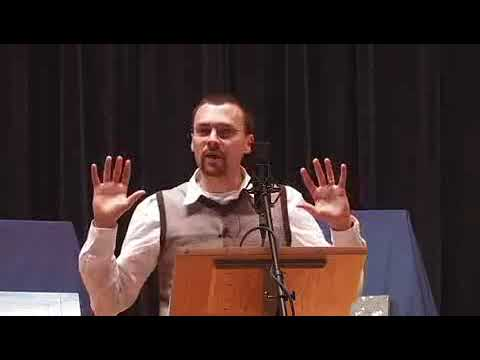 Atheist Dr. Clare Rowen manhandles the silly Reverend in debate on God & Religion