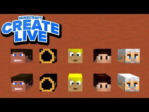 Spielerköpfe mit einer HEXE farmen! & Haupthaus weiter bauen! - Minecraft CREATE LIVE #50