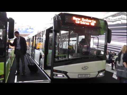 Solaris Urbino 18 2015 In detail review walkaround Interior Exterior