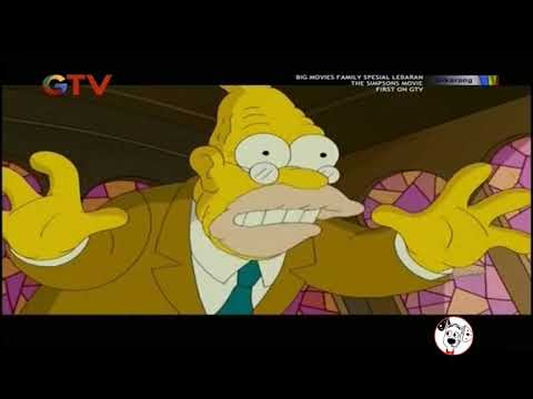 The Simpsons Movie |Dub Indonesia| Clips (2)