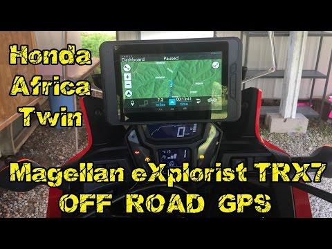 Magellan eXplorist TRX7 Off Road GPS Honda Africa Twin CRF100L