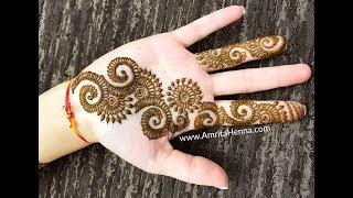 Mehndi Art Designs : Simple arabic mehndi art designs for hands 2018* new latest