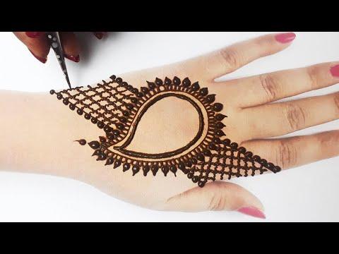 Stylish Eid Special Mehndi from Dots & Floral - गोल टिक्की से आसान मेहँदी लगाना सीखे- Ramzan Mehandi