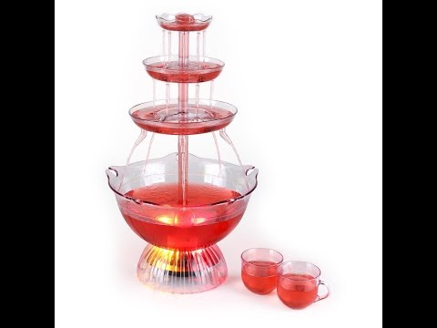 Party Drinks Fountain, For Adults & Kids