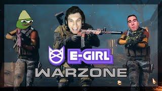 When Trainwreckstv Books Girls From Egirl.gg To Play Warzone