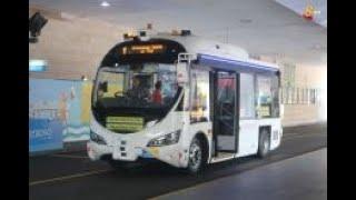 本地首个随需而至无人驾驶巴士 圣淘沙免费开放试搭