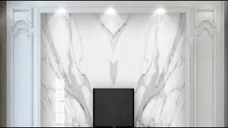 $500 Unbelievable TOP 50 TV Background wall with  marble style