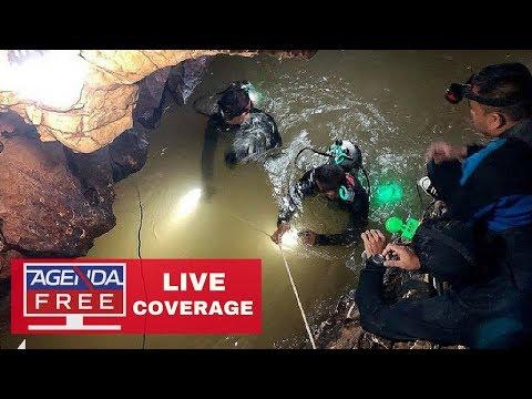 Thailand Cave Rescue - LIVE COVERAGE 7/7/18