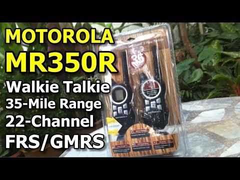 รีวิว วิทยุสื่อสาร Motorola