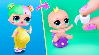 10 лайфхаков и поделок для ЛОЛ и миниатюрного малыша