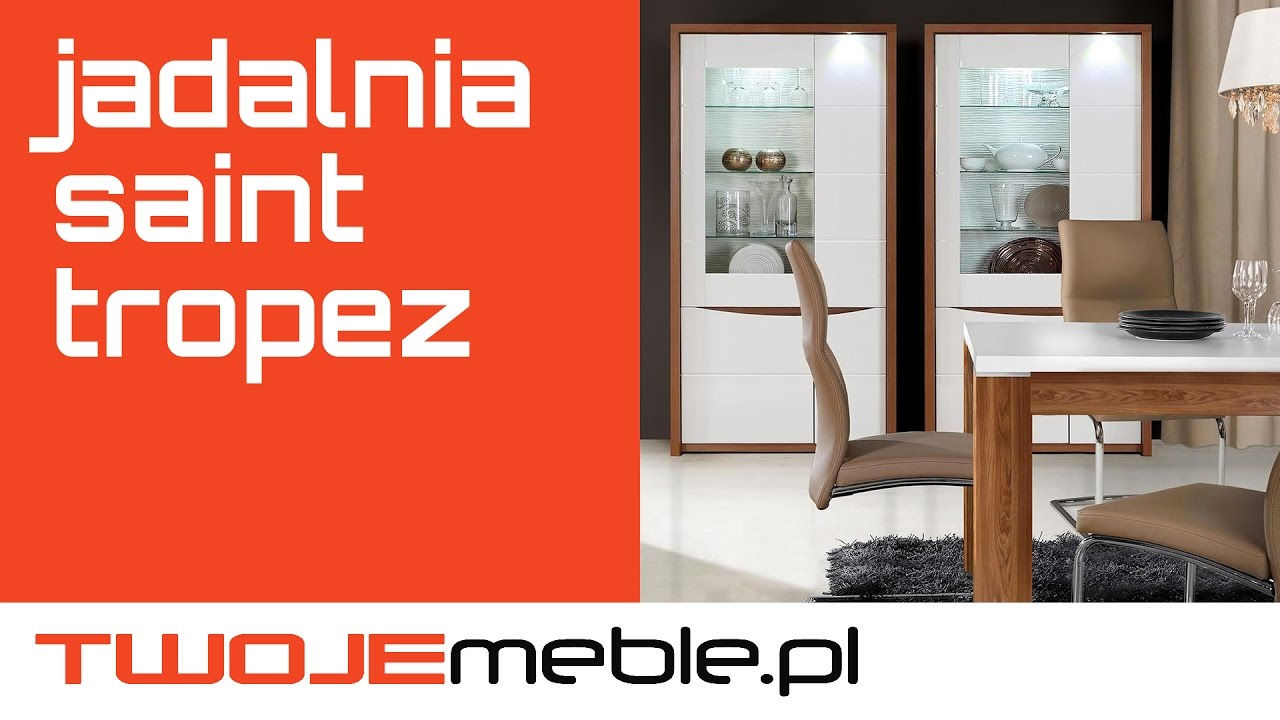 Recenzja Jadalnia Saint Tropez Meble Forte Twojemeble Pl Youtube