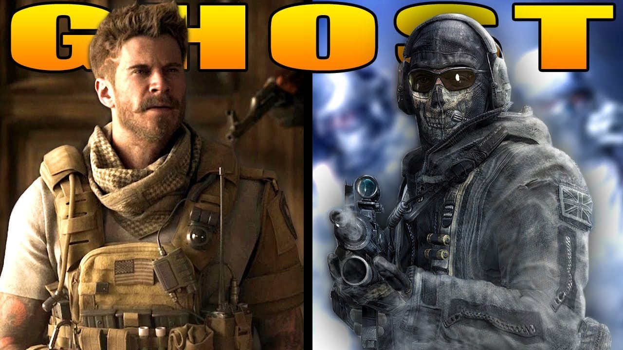 "Alex is Simon ""GHOST"" Riley (Modern Warfare Story)"