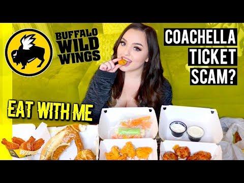WATCH ME EAT | BUFFALO WILD WINGS MUKBANG EATING SHOW!