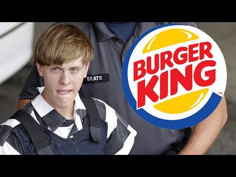 Is Dylann Roof S Burger King Meal White Privilege Youtube