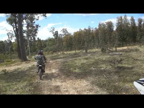 Buckland Tasmania Gasgas 300, CR500, CRF250.MP4