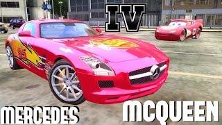 Lightning McQueen - 2011 Mercedes Benz SLS AMG v3.0 GTA IV [DOWNLOAD LINK]