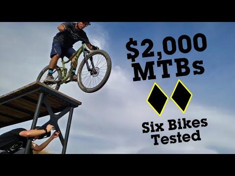 Vital's $2,000 Full-Suspension Budget Mountain Bike Comparison Test