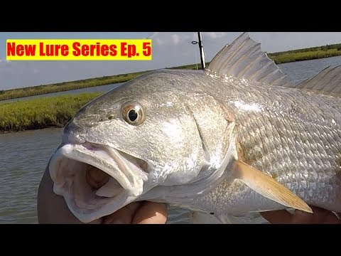 New Lure Series Ep. 5 Awesome Limit Of Redfish Caught From My Bote SUP