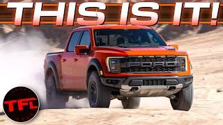 2021 Ford F-150 Raptor World Debut: I Get My Hands On It - Here's Everything That's New And Cool!