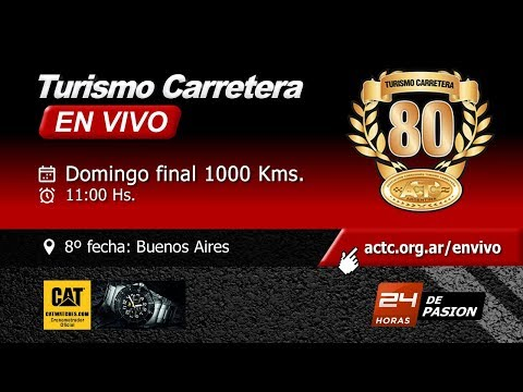 08-2017) Buenos Aires: Final Turismo Carretera 1000 Kms.