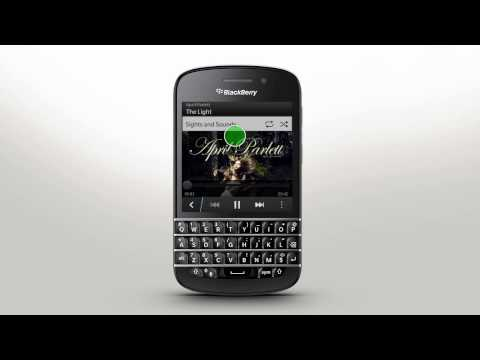 Touch Screen Gestures Blackberry Q10