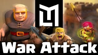 TH5 GiBarch | 3 star attack | Clan Wars | Clash of Clans | Demolition v Molodou