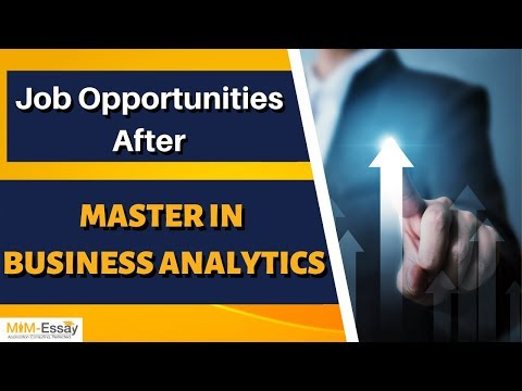 Job Opportunities after Master in Business Analytics | MiM Essay