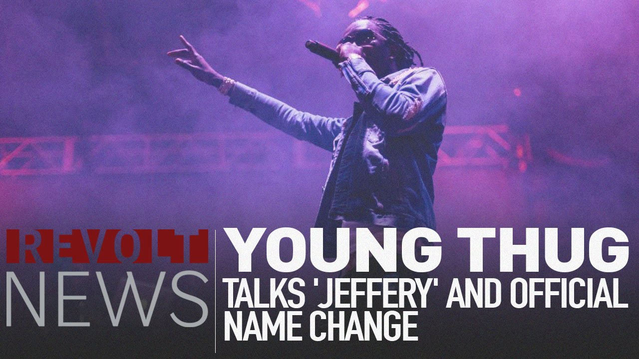 Young Thug Talks Changing His Name to 'Jeffery' [Interview]