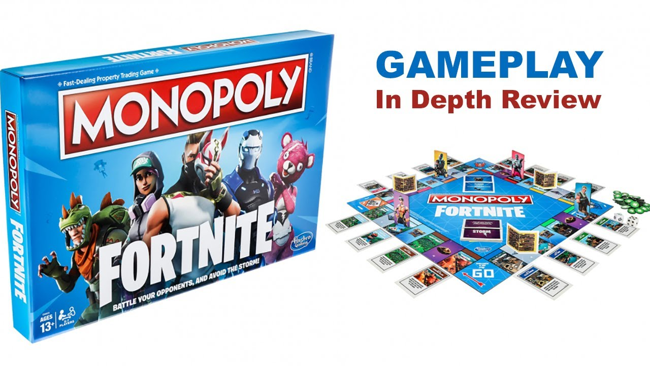 Fortnite Monopoly Gameplay In Depth Review Youtube