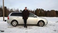 Torin käytetyn koeajossa Toyota Corolla Wagon 2005