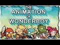 The Animation of Wonderboy: The Dragon's