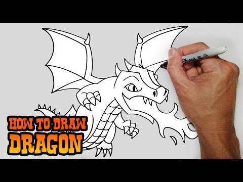 How to Draw Dragon | Clash of Clans
