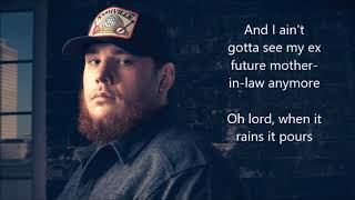 Download Luke Combs When It Rains It Pours Lyrics Mp3 and Videos