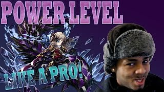 Brave Frontier | Episode #338: Power Level Like A Pro! 16,600 Exp Per Run!
