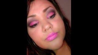 pink smokey eye shadow Thumbnail