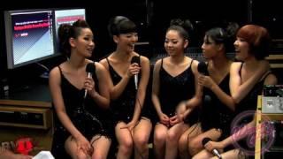 Wonder Girls Interview Backstage at Jonas Brothers World Tour 2009 (English) 원더 걸스 인터뷰