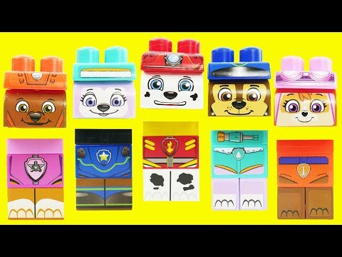 Best Learning Colors Video for Children Paw Patrol Trolls Baby Skye Bath Paint Nesting Toys