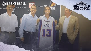 Steve Nash Remembers Being Drafted In The Same Class As Kobe & Allen Iverson in 1996 | ALL THE SMOKE