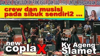 LAGU VIRAL..!!  II BAGAI LANGIT DAN BUMI II Cover By LINDA TARNIA - NEW COPLAX Feat KY AGENG