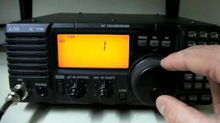 видео Рация Icom IC-M504