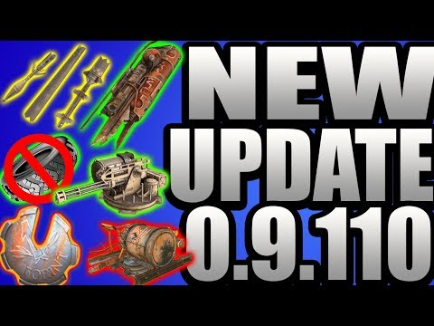 NEW UPDATE!!! New Mission System, Buffs'n Nerfs, 0.9.110 Update Review - CROSSOUT Gameplay