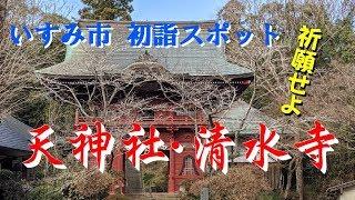千葉県いすみ市 天神社・清水寺 初詣スポット 最高の1年にするために 祈願せよ♪ 12/29撮影