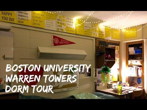 College Dorm Tour–Boston University Warren Towers
