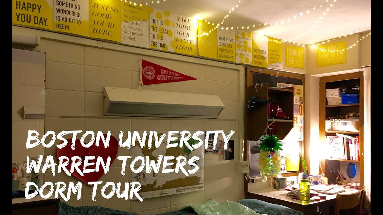 Superb College Dorm Touru2013Boston University Warren Towers Part 6