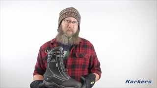 Korkers TundraJack Winter Boot - Black