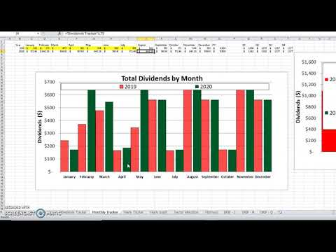 The Spreadsheet You Can Use To Track Your Dividends | Personal Finance