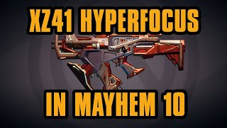 XZ41 Hyperfocus in Mayhem 10 - Scaled + True Takedown Wotan | Borderlands 3