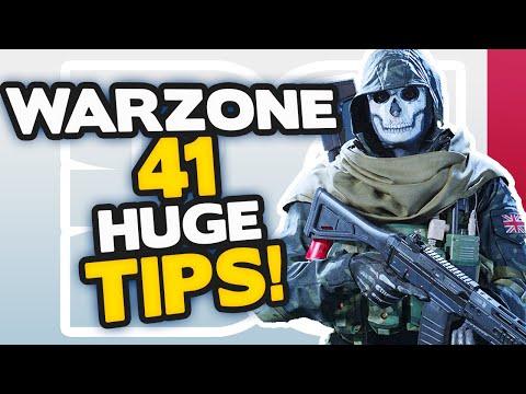 Warzone 41 HUGE tips to INSTANTLY get BETTER (MODERN WARFARE BATTLE ROYALE)
